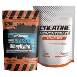 EP CREATINE MONOHYDRATE 500g + UNS WHEY HYDRO 500g