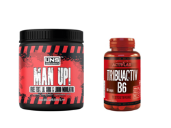 UNS MAN UP 120 + ACTIVLAB TRIBUACTIV 90 TESTOSTERON