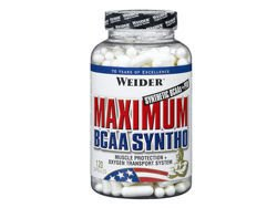 WEIDER Maximum BCAA Syntho 120 kaps