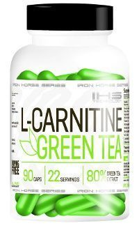 IRON HORSE L-Carnitine + Green Tea 90kaps