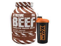 FITNESS AUTHORITY BEEF PROTEIN 1,8KG + MAGAZYN + SHAKER