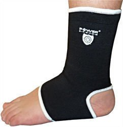 POWER SYSTEM Opaska na kostkę Ankle Support CZARNY